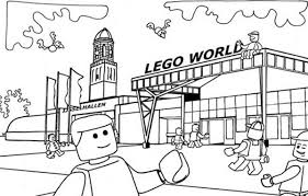 Lego Duplo Welcome To World Coloring Pages