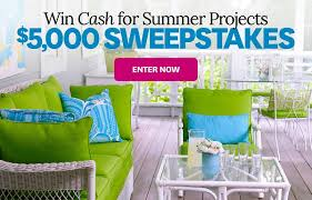 Better Homes and Gardens $5 000 Sweepstakes