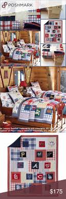 Pottery Barn Kids MLB Baseball Quilt Sham Set NEW Pottery Barn ... 94 Best Quilt Ideas Images On Pinterest Patchwork Quilting Quilts Samt Bunt Quilts Pin By Dawna Brinsfield Bedroom Revamp Bedrooms Best 25 Handmade For Sale 898 Anyone Quilting 66730 Pottery Barn Kids Julianne Twin New Girls Brooklyn Quilt Big Girl Room Mlb Baseball Sham Set New 32 Inspo 31 Home Goods I Like Master Bedrooms Lucy Butterfly F Q And 2 Lot Of 7 Juliana Floral