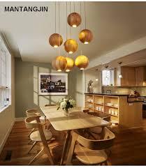 massivholz moderne pendelleuchte chinesisch japanisch nordic kreative minimalistischen wohnzimmer esszimmer holz holz pendelleuchte