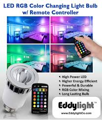 color changing light bulb with remote color changing led bulb