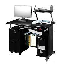 Techni Mobili Super Storage Computer Desk Canada by Techni Mobili Complete Computer Workstation With Cabinet And