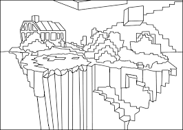 Minecraft Coloring Pages To Print Printable Image