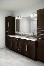 Thermofoil Cabinet Doors Edmonton by Cyprus Chocolate Pear A Birch Shaker Door Stained In A Beautiful