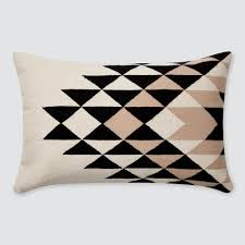 Decorative Lumbar Pillows For Bed by Black And White Decorative Lumbar Pillow Handmade In Peru U2013 The
