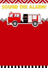 Fire Truck Birthday Party With FREE Printables | Parties ...
