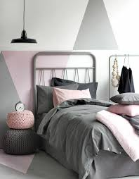 chambre gris et deco chambre grise et enduit mural gris le de newsindo co