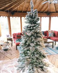 Pink Christmas Tree Flocking Spray by How To Flock Your Own Christmas Tree The Cofran Home