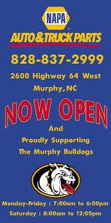 Grand Opening In New Location In Murphy, NC, Auto Dealerships - Napa ...