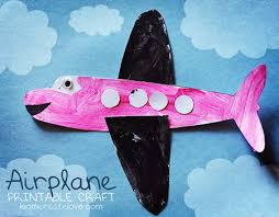 18 Airplane Crafts For Kids About Family