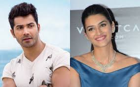 Varun Dhawan And Kriti Sanon Flirting With Each Other