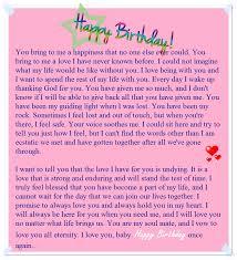 A Sweet Happy Birthday Letter to My Boyfriend