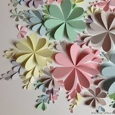 Paper Flower Wall Tutorial