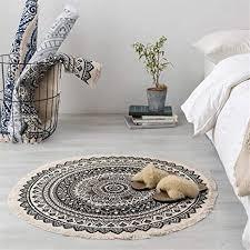 de mandala muster rund teppich weiche