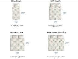 King Size Mattress Size Measurements in Cm