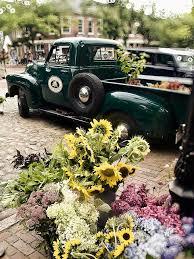 Vintage Flower Truck Nantucket Photograph By Tammy Wetzel