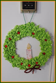 Now That We Are All Done Our Tissue Paper Crafts For Kids Is Left To Find The Perfect Place Hang Your New Christmas Wreath