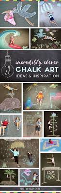 Sidewalk Chalk Art Ideas For Kids