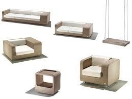 Modern Patio Furniture Set U2013 New Hug By Schoenhuber Franchi