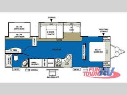Wildwood Fifth Wheel Floor Plans Colors New 2011 Forest River Rv Wildwood 29bhbs Travel Trailer At Fun