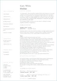 Nutritionist Resume Education And Training Requirements Sample