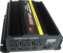 100 Power Inverters For Trucks Pure Sine 1000 Watt Inverter 12 DC To 120 AC Volt Royal
