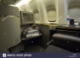 commercial cuisine a commercial airline s fully flat class seat and modern stock