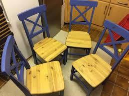 4 stühle für esszimmer oder küche farbe petrol holz