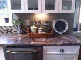 Kitchen Counter Decor