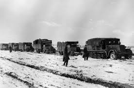 100 German Trucks SdKfz 7 And Column Of Trucks Russia World War Photos