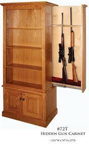american winchester bookcase with hidden gun safe winchester