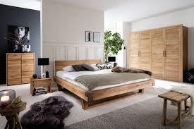 schlafzimmer wildeiche massiv 4 teilig mit balkenbett modell alana