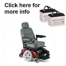 replacement batteries for all invacare power wheelchairs and