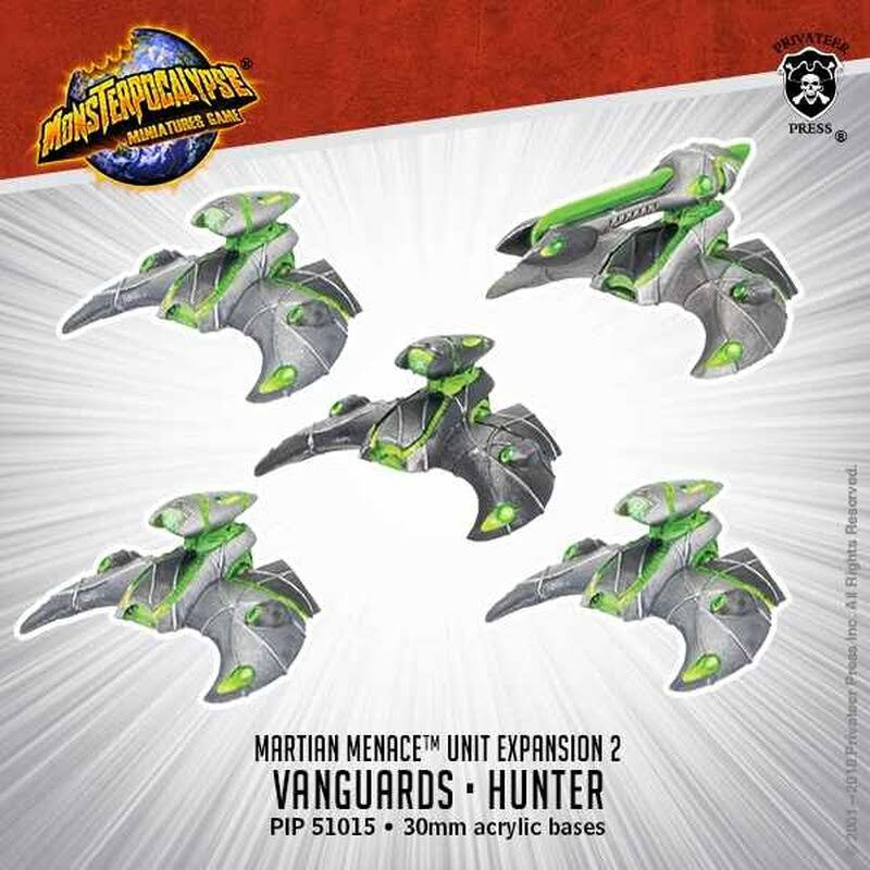 Monsterpocalypse - Vanguard & Hunter (5)