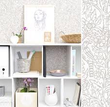 tapisserie pour bureau papiers peints pour un bureau scandinave au fil des