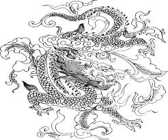 Dragon Coloring Pictures Pages Dragons For Adults Difficult Free Printable Baby Home Improvement