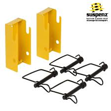 Best Kayak Ceiling Hoist by Quick Release Wall Mount Brackets Also Available In Black Suspenz