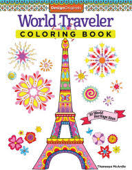 World Traveler Coloring Book 30 Heritage Sites