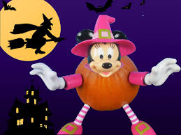 Minnie Mouse Pumpkin Carving by How To Turn Halloween Pumpkin In To Minnie Mouse Youtube