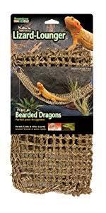 Bearded Dragon Heat Lamp Amazon by Amazon Com Penn Plax Lizard Lounger 100 Natural Seagrass