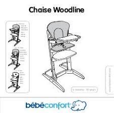 chaise woodline notice bebe confort woodline mode d emploi notice woodline