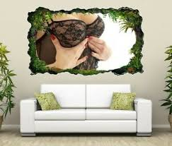 details zu 3d wandtattoo frau brust erotik schlafzimmer pose wand aufkleber 11h436