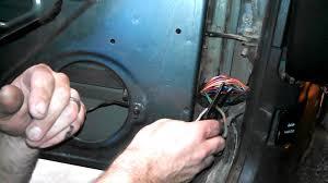 How To Fix Door Speakers On Jeep Cherokee - Fixing Broken Wires In ...
