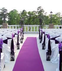 And White Decorating Classic House Roof Design Purple Wedding Church Decorations Ideas