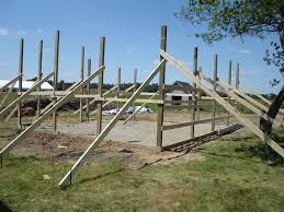 Shed Anchor Kit Menards 24 x 30 pole barn garage construction materials by menards
