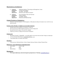 Cute Hobby For Resume Your Hobbies And S On A Inside Sample Of 18 Interest