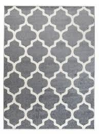 details zu designer teppich grau marokkanisches modern muster wohnzimmer esszimmer
