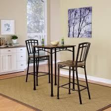 3 Piece Kitchen Table Set Walmart by Home Styles Modern Craftsman 3 Piece Deep Brown Bar Table Set 5050