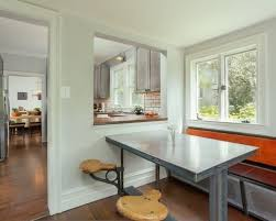Kitchen To Dining Room Pass Through Classy Formal With Houzz Decorating