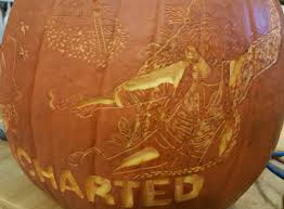 Maleficent Pumpkin Stencil by Meet The Nerd Responsible For This Uncharted Nathan Drake Pumpkin